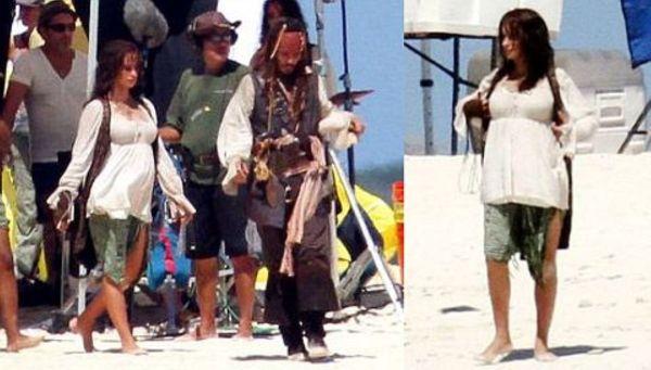Embarazada Penlope Cruz Pone En Apuros Vestuaristas De Piratas Del Caribe Noticias