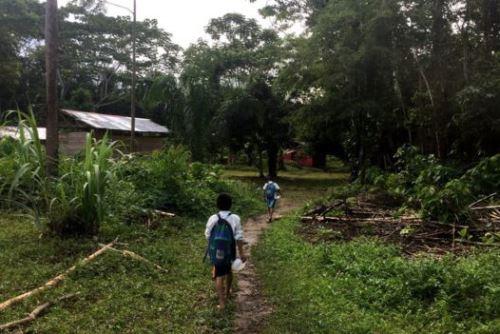 Se ha registrado un incremento poblacional en la comunidad Puerto Shipetiari.
