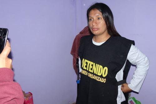 Resultado de imagen para detienen alcaldesa de lobitos agencia andina