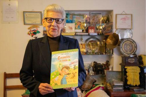 La maestra ancashina Violeta Ardiles se ha dedicado a escribir y a publicar libros de poesía infantil.