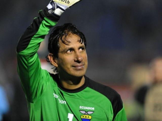 Arquero Cevallos de LDU y selección de Ecuador anunció hoy su ...