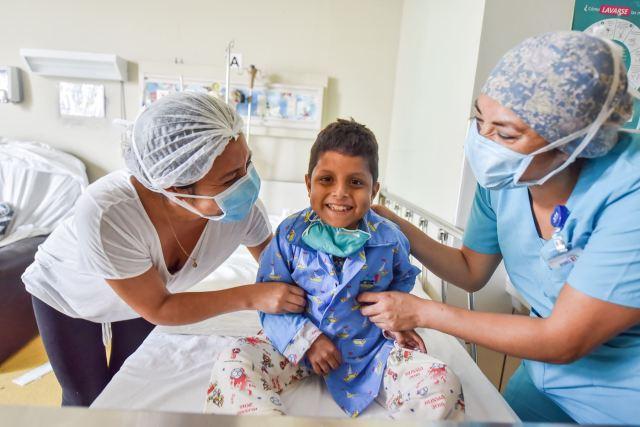 Transplante de hígado en el Instituto Nacional de Salud del Niño San Borja. Foto: ANDINA/Difusión