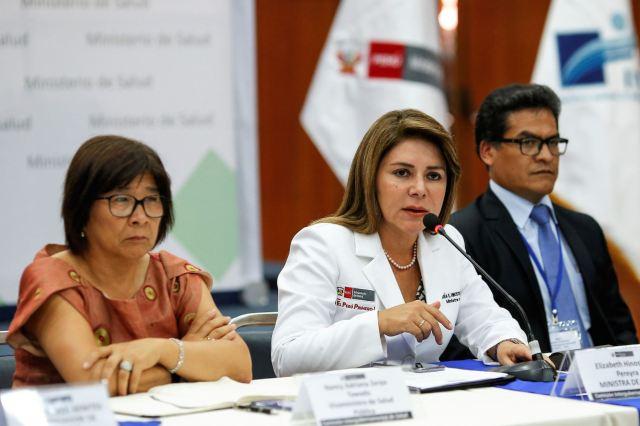 Ministra de Salud exhorta a las autoridades regionales de Salud a implementar planes de respuesta ante posible llegada del coronavirus.