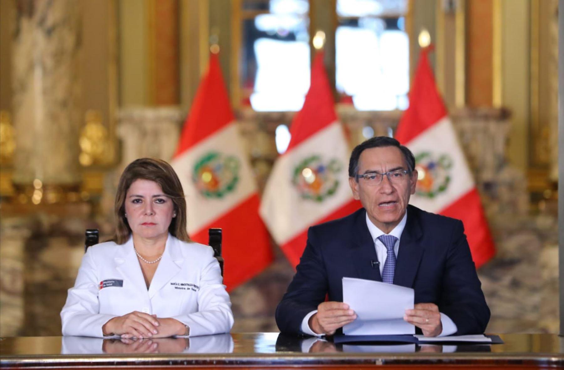 President Vizcarra confirms first coronavirus case in Peru   News ...