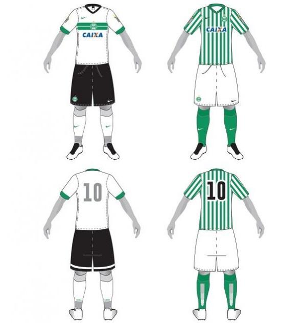Cadastro Nacional de Uniformes de Times de Futebol   Séries A 0f7edc39590dc