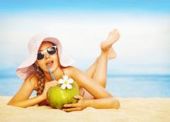 Água de coco e seus nutrientes