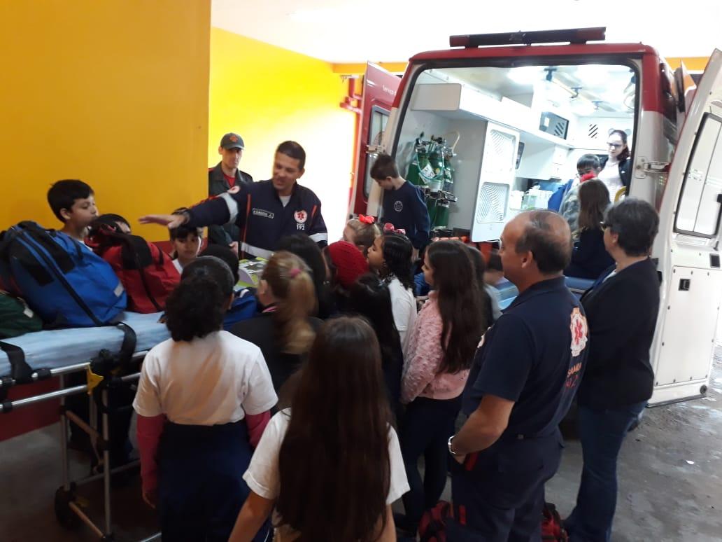 Além de atendimento de urgências, SAMU de Brusque inicia ações educativas na comunidade