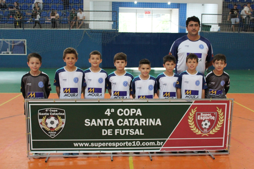 Equipe Sub-9 do Guarani/FME se classifica para as finais da Copa Santa Catarina