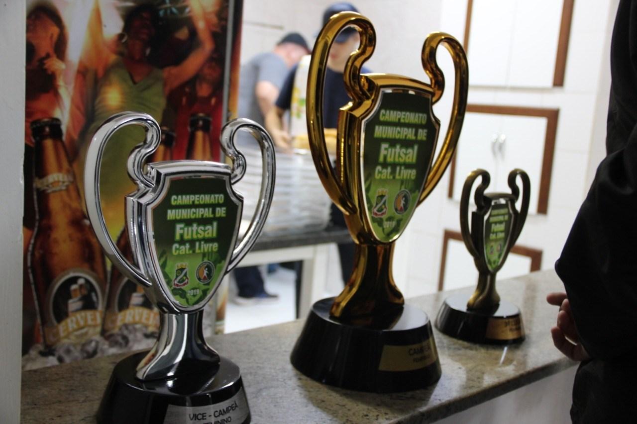 Final do Campeonato Municipal de Futsal Feminino de Brusque será nesta quarta-feira (27)