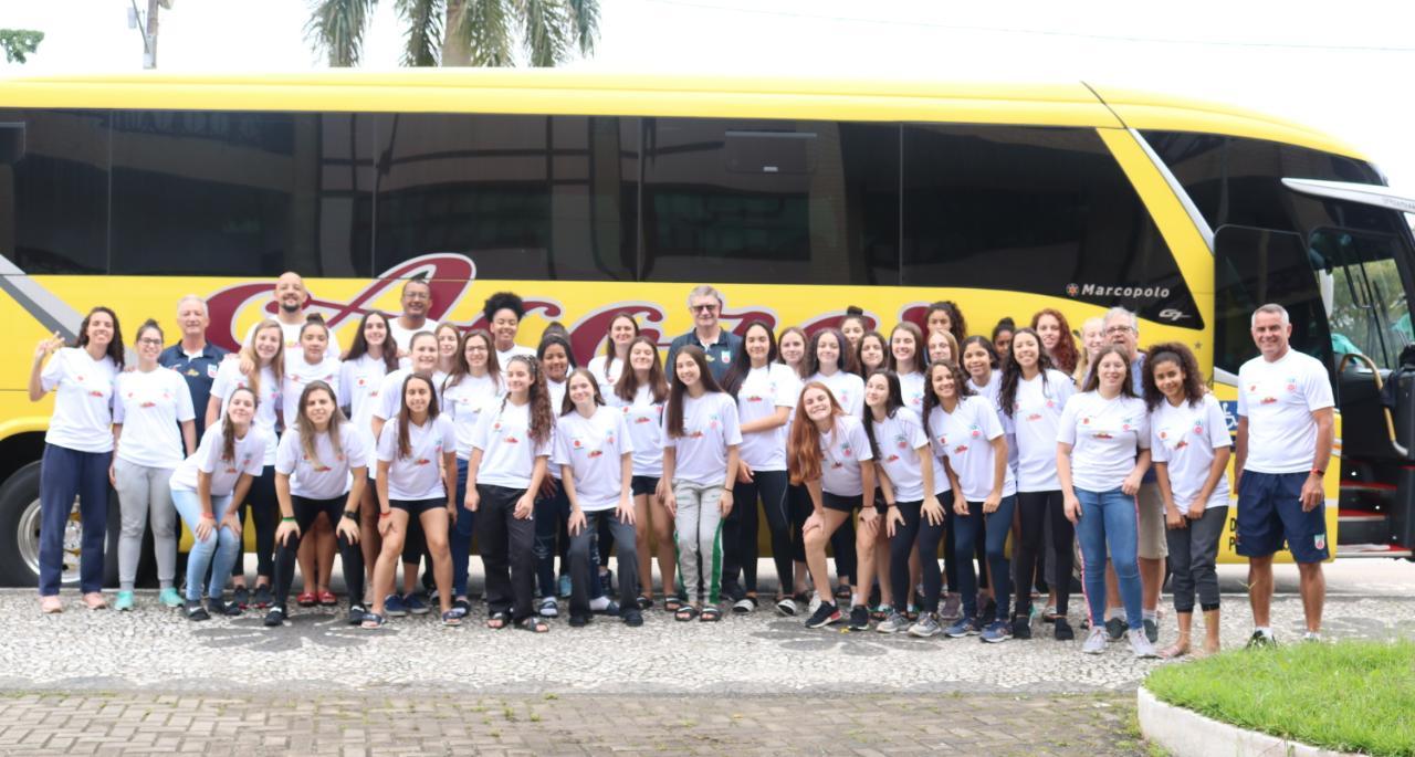 Seleção Catarinense de Basquetebol viaja ao Paraná para disputa do Campeonato Sul-Brasileiro