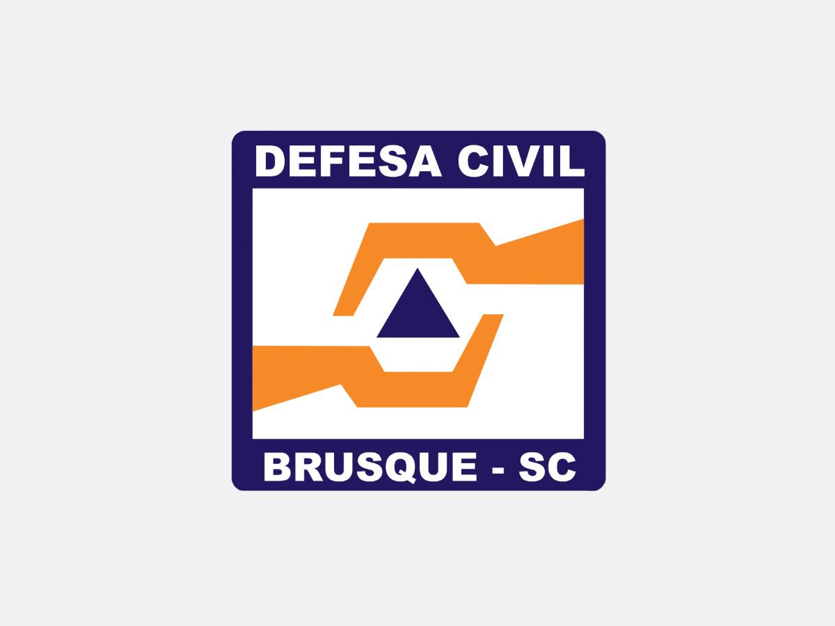 Defesa Civil de Brusque divulga novo aviso meteorológico