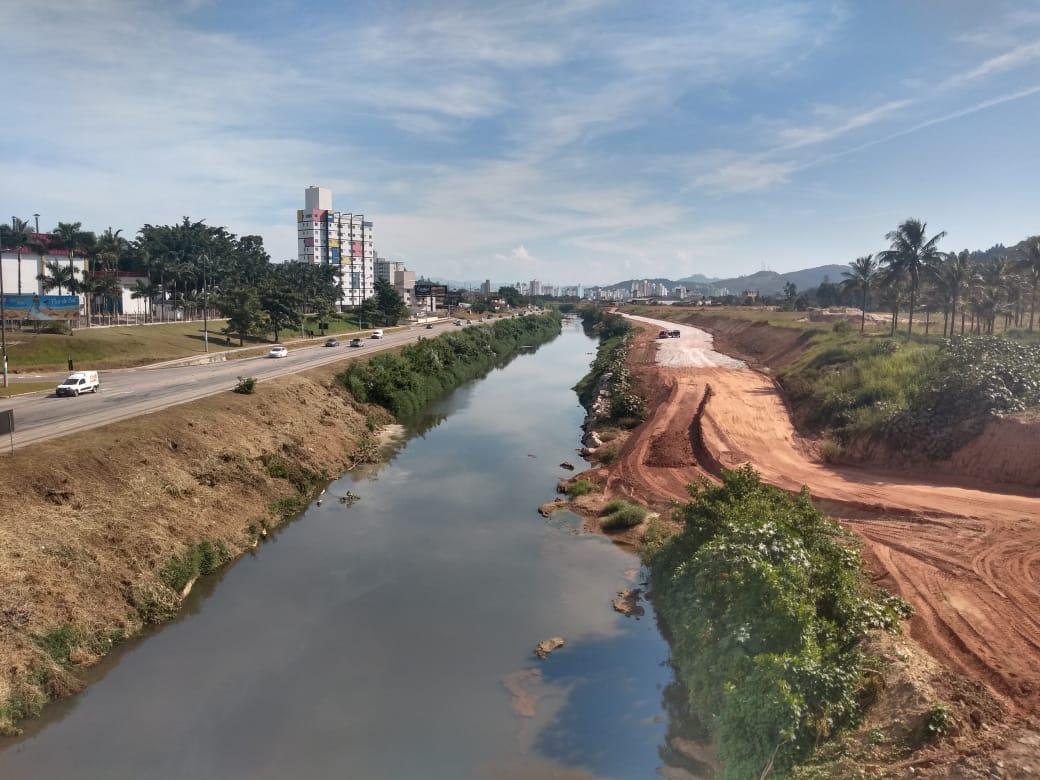 Obra da Beira Rio Margem Esquerda avança em oito frentes de trabalho