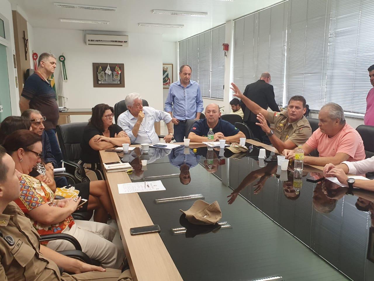 Polícia Militar, Prefeitura de Brusque e Associações definem ações do Decreto Estadual