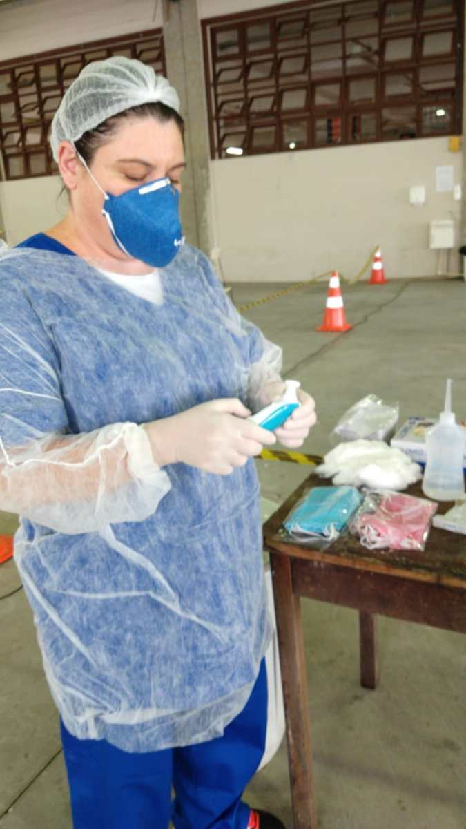 Equipamentos de EPI garantem a segurança de servidores que atuam no combate ao coronavírus