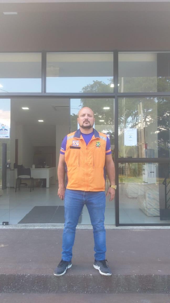 André Cristiano Archer é o novo diretor da Defesa Civil de Brusque