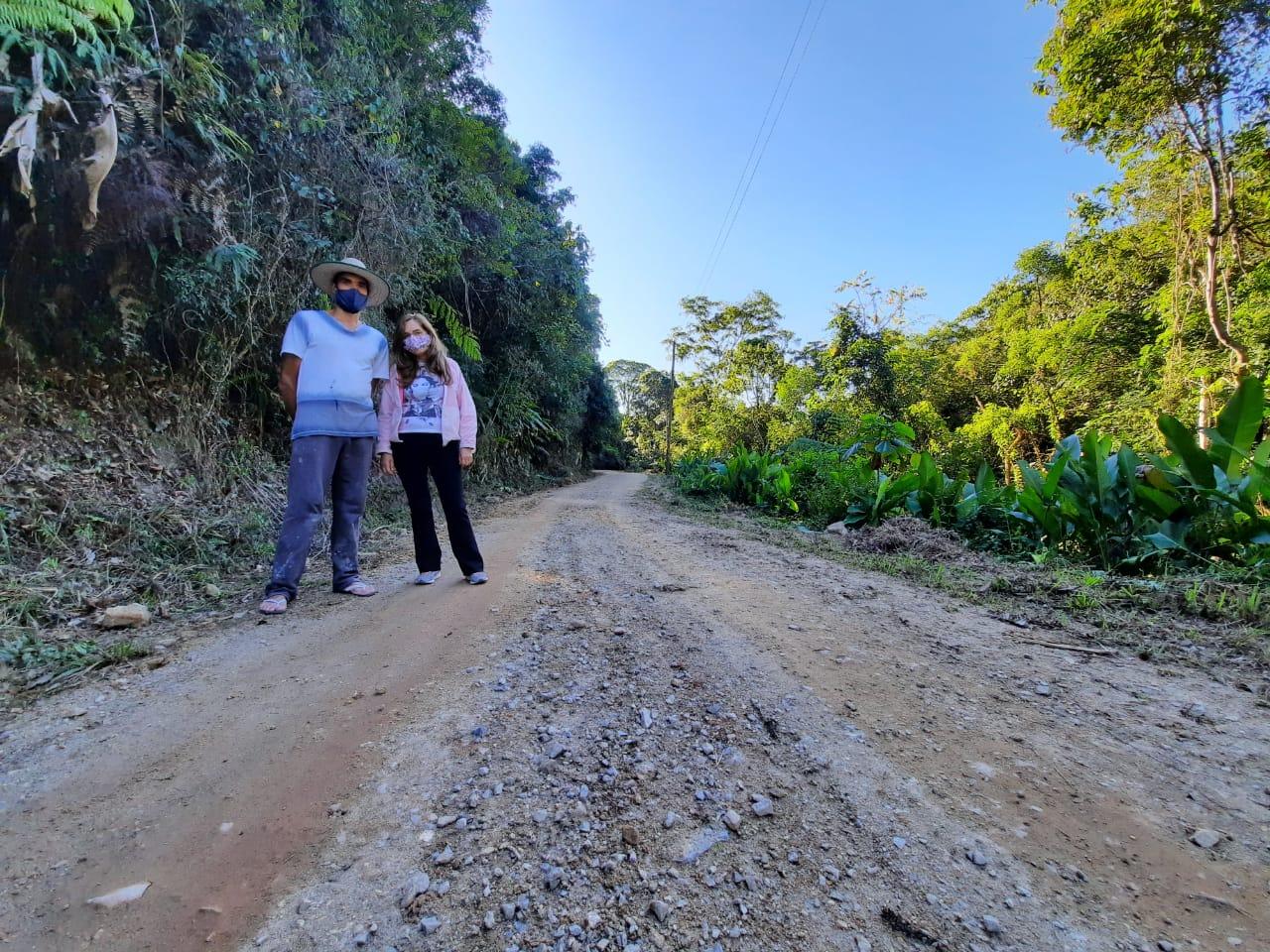 Prefeitura realizou 70 manutenções em vias não pavimentadas