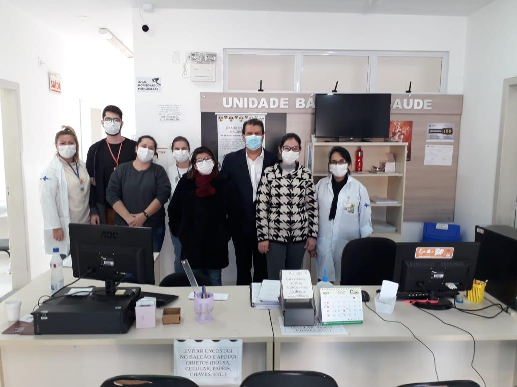 Secretário de Saúde visita mais duas Unidades Básicas