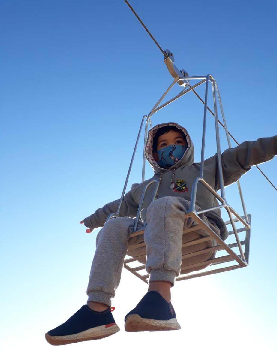Escola de Brusque investe em atividades ao ar livre