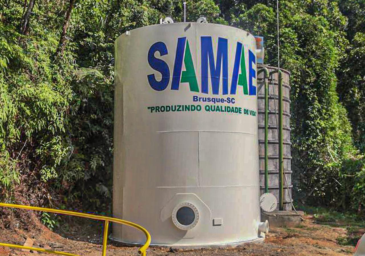Samae informa: reservatórios do Limeira serão limpos nesta quarta e quinta-feira