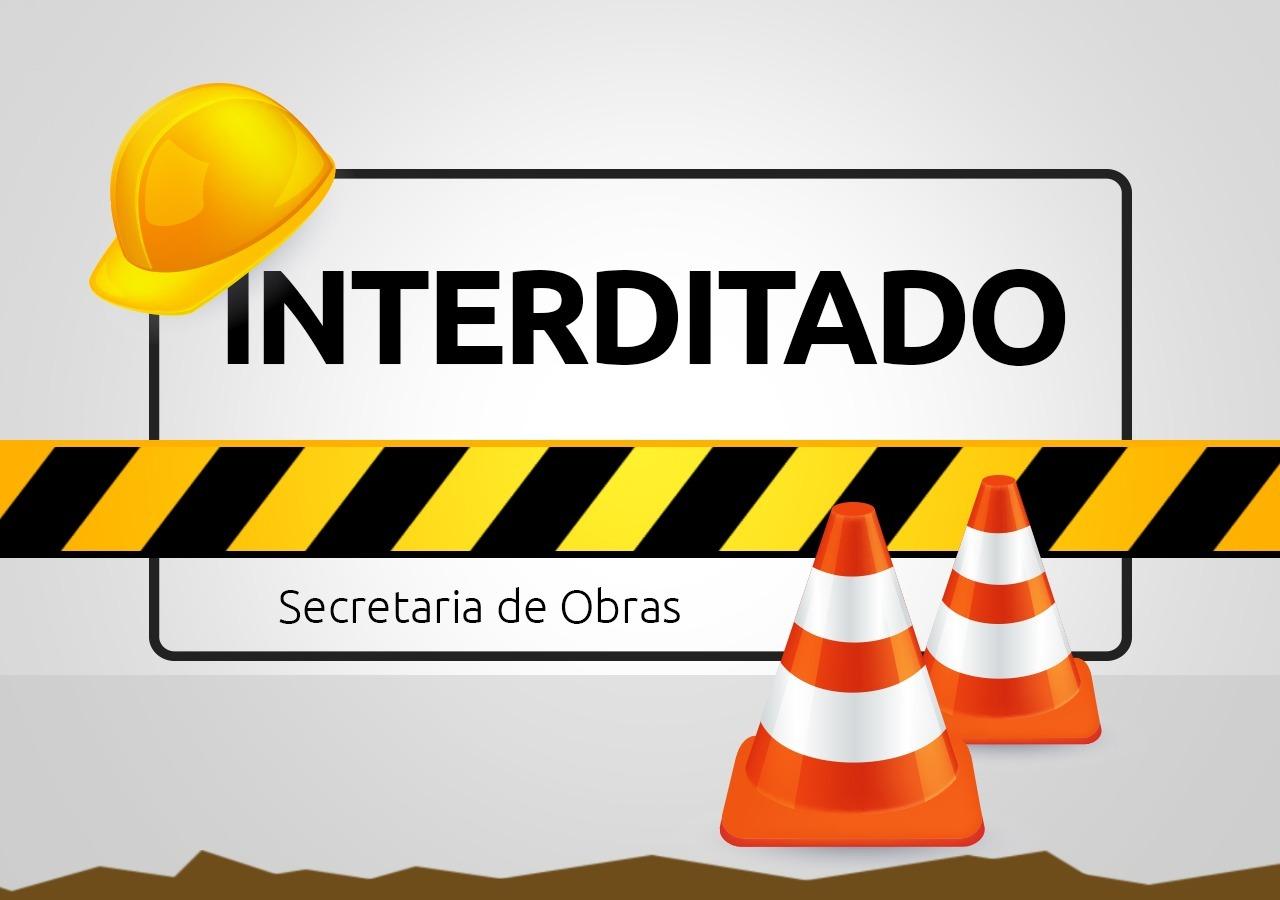 Rua Gustavo Schlosser ficará com trânsito em meia pista nesta quarta-feira (28)