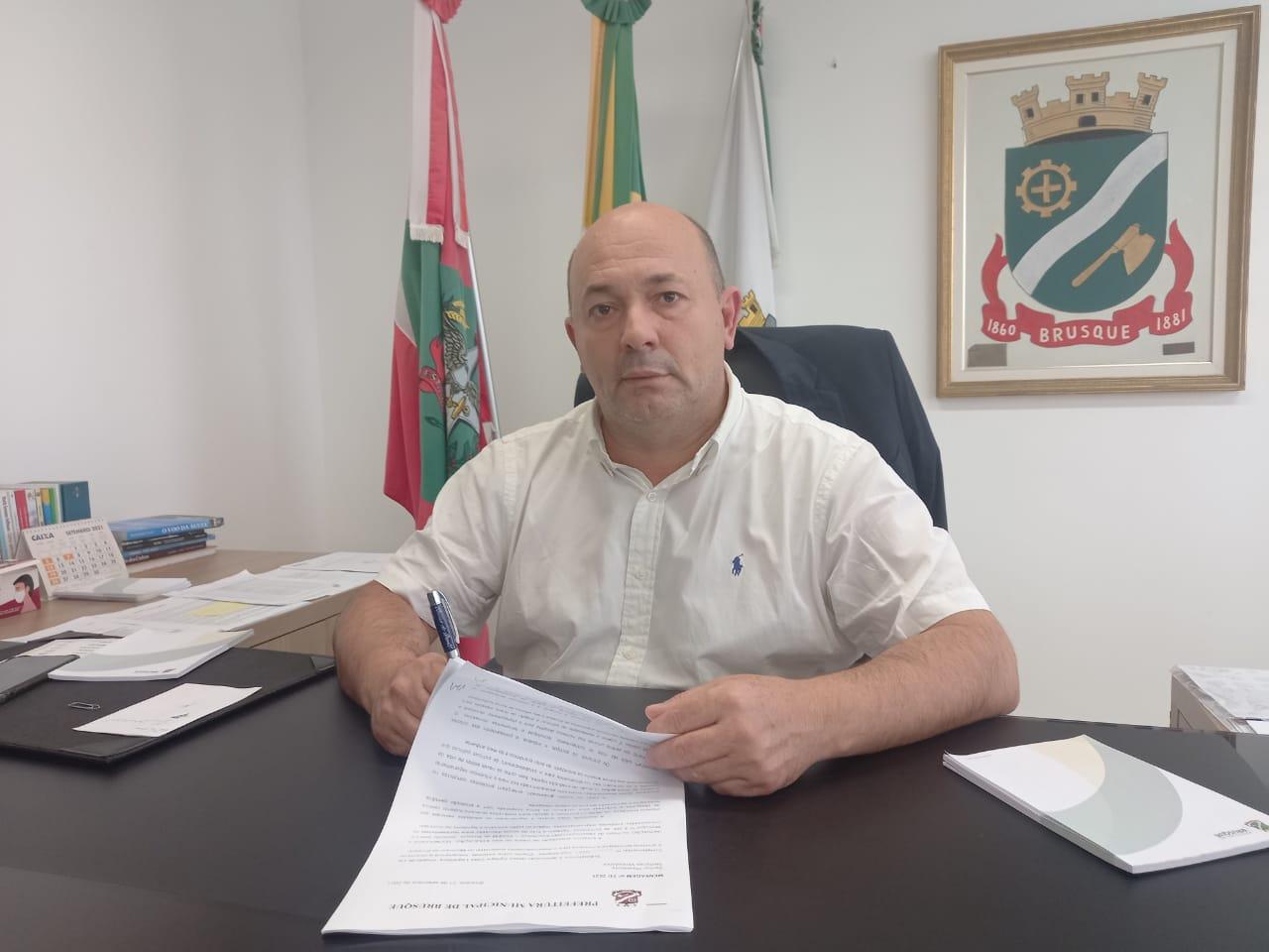 Prefeito encaminha projeto de lei para fomentar a inovação em Brusque
