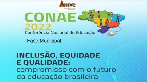 Inscrições para a Conferência Municipal de Educação seguem abertas até sexta-feira (15)