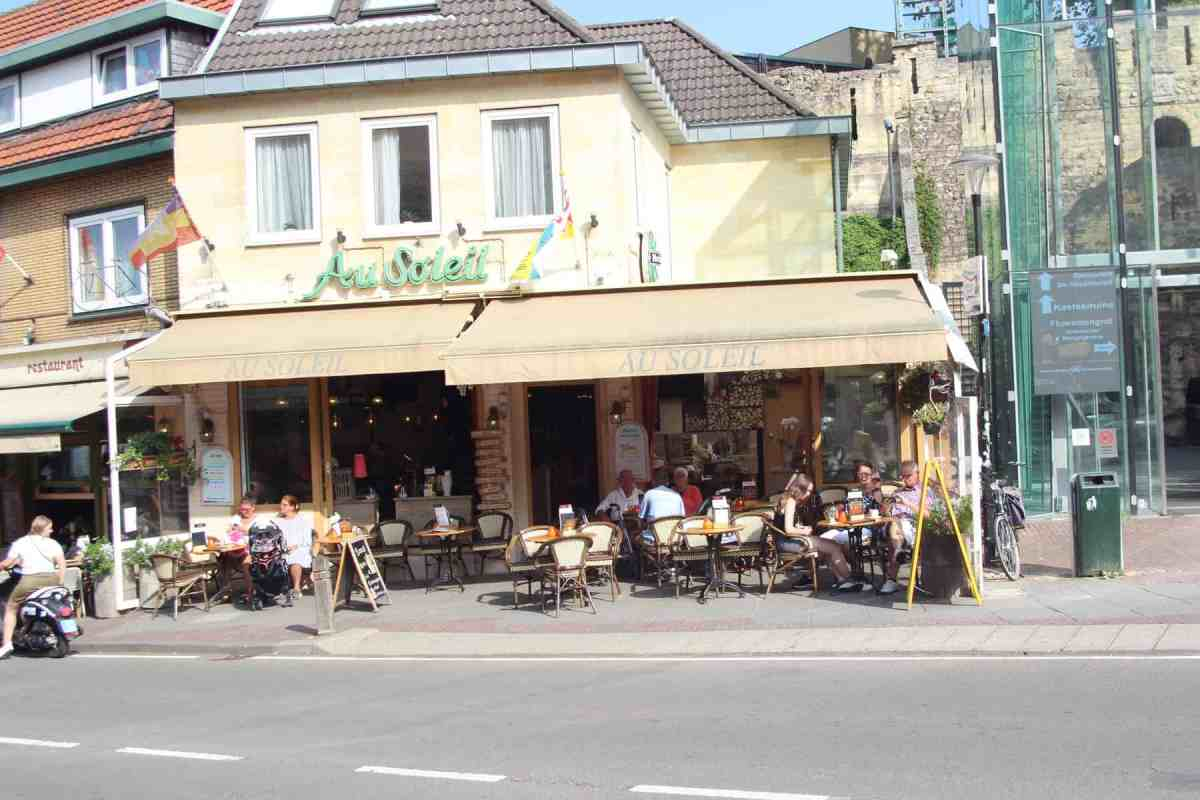 Zeer mooie brasserie In Valkenburg met woning en terras ter overname!