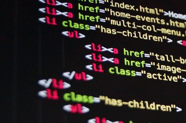 Bild på webbutveckling