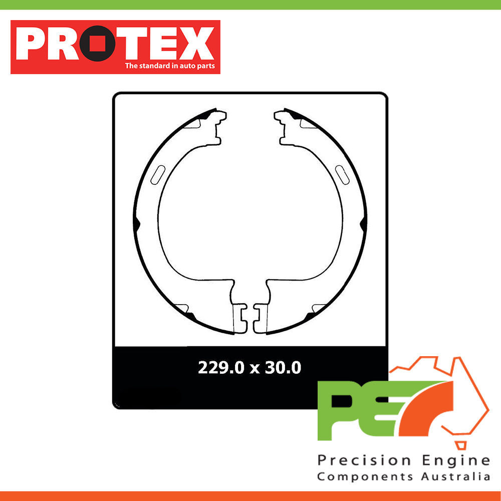 hight resolution of details about new protex parking brake shoe for ford f250 2d ambulance rwd