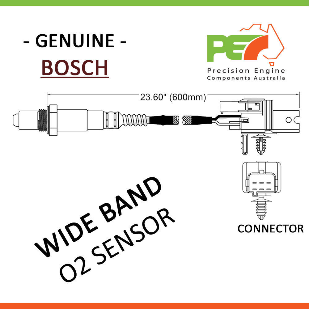 hight resolution of details about new walker usa oxygen sensor o2 for ford focus mondeo xr5 ma mb xr5
