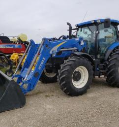 2014 new holland t6 175 tractor [ 1024 x 768 Pixel ]