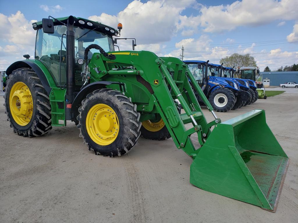hight resolution of 2015 john deere 6150r tractor