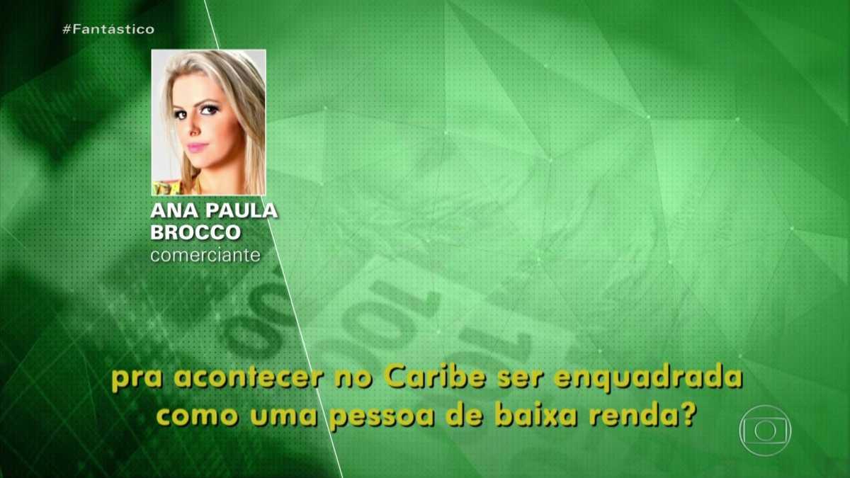 Ana Paula Brocco teria conseguido na justiça uma liminar impedindo a Globo de exibir uma reportagem