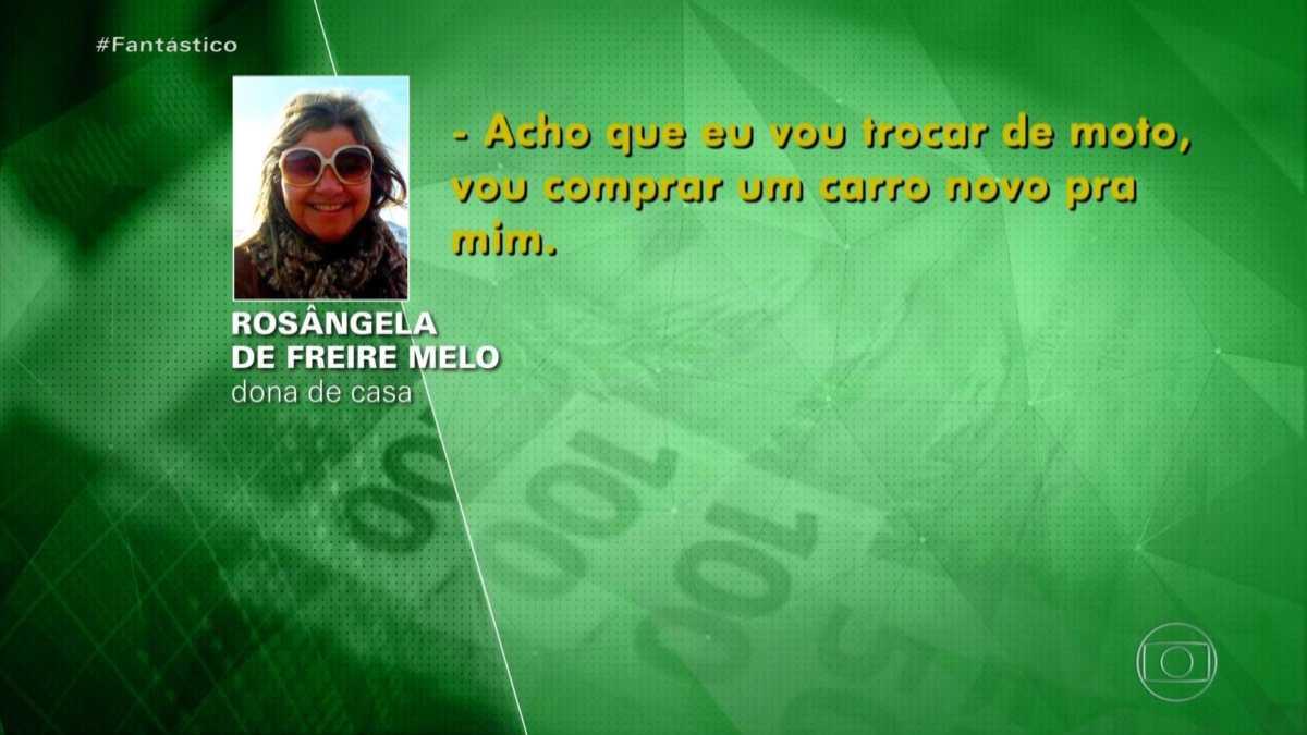 Rosangela Freire de Melo em áudio Vazado no Fantástico