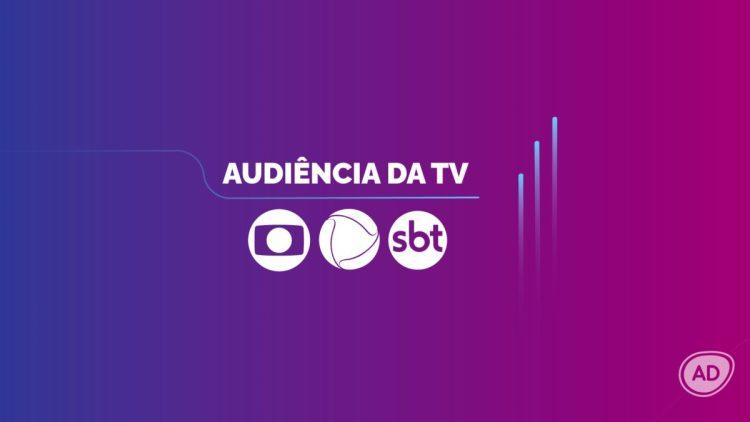 Logo dos dados consolidados de audiência da TV