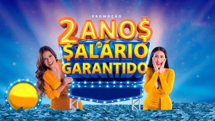 Divulgação do resultado da promoção 2 Anos de Salário Garantido da Tele Sena de São João 2021, com Simone e Simaria