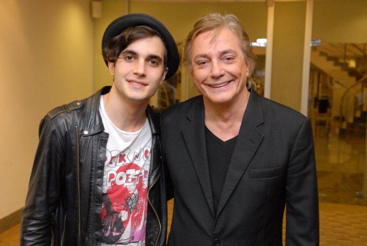 Fiuk e Fabio Jr no lançamento da série tal filho tal pai que ganhará reprise no Canal Viva