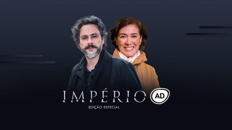 Logo do resumo diário da novela Império