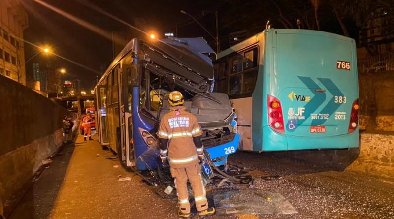 O motorista passou mal e causou o acidente