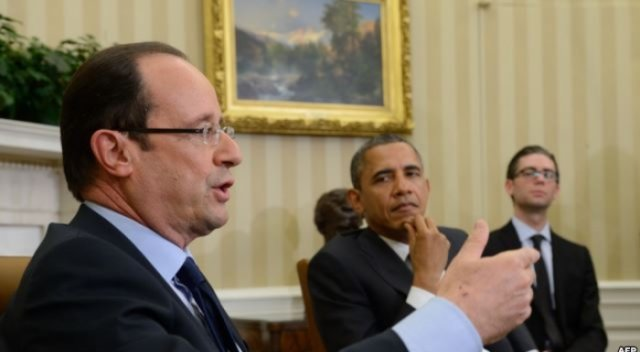 Obama dhe Hollande