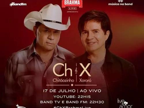 Live Chitãozinho Xororó Portal Oficial De Belo Horizonte