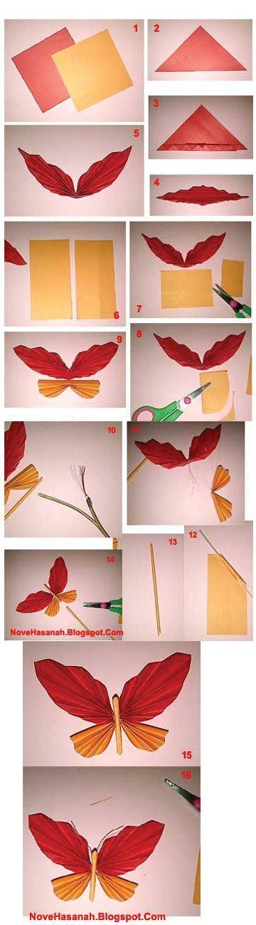 Cara Membuat Hiasan Dinding Dari Kertas Origami : membuat, hiasan, dinding, kertas, origami, Membuat, Hiasan, Dinding, Kamar, Kerajinan, Kertas, Origami, Ideku