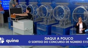 Iniciou as apostas para a Quina de São João; prêmio de R$ 140 milhões