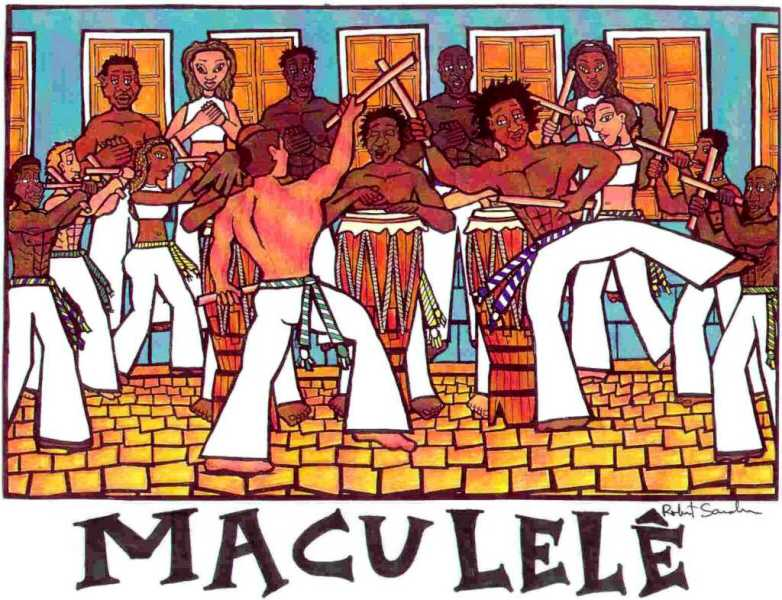 Maculelê Maculelê, Puxada de Rede e Samba de Roda Portal Capoeira 2