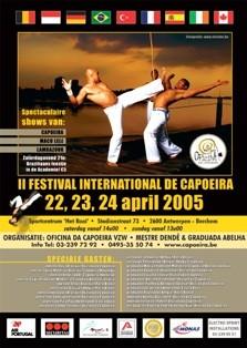 Portal Capoeira II Festival Internacional de Capoeira Eventos - Agenda