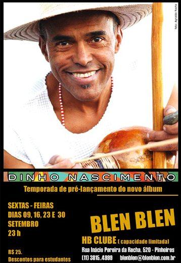Portal Capoeira Mestre Dinho Nascimento no Blen Blen - SP Eventos - Agenda