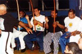 Evento de Angola em Santos com Mestre Lua de Bobó