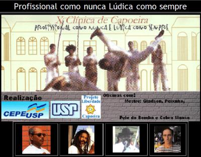 Portal Capoeira X Clínica de Capoeira e I Congresso Internacional Eventos - Agenda