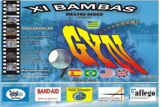 Portal Capoeira XI Bambas de Capoeira do Grupo Candeias Eventos - Agenda