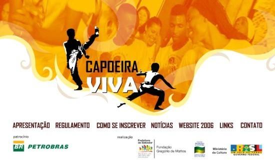 Portal Capoeira Videoconferência – Edital Capoeira Viva 2007 Eventos - Agenda